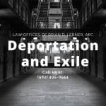 deportation and exhile