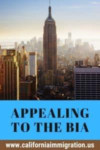 BIA Appeals