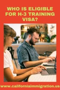 eligible for h-3 training visa