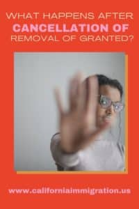 removal proceedings