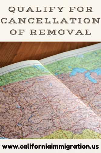 cancellation of removal