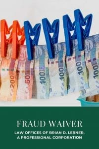 family fraud waivers
