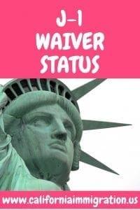 J-1 waiver status
