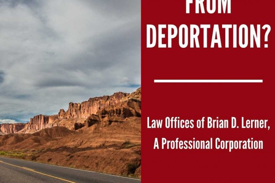 relief from deportation