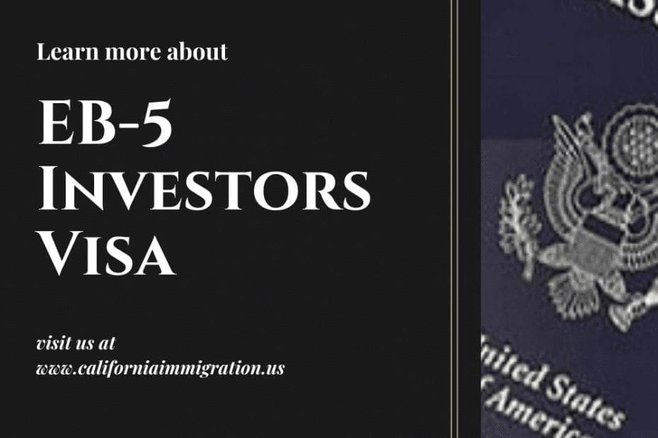 eb-5 Investors Visa
