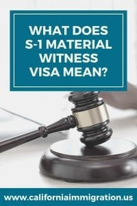 S-1 Visa