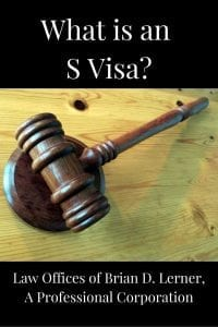 S-1 Witness Visa
